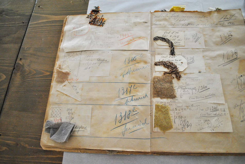 old pattern book