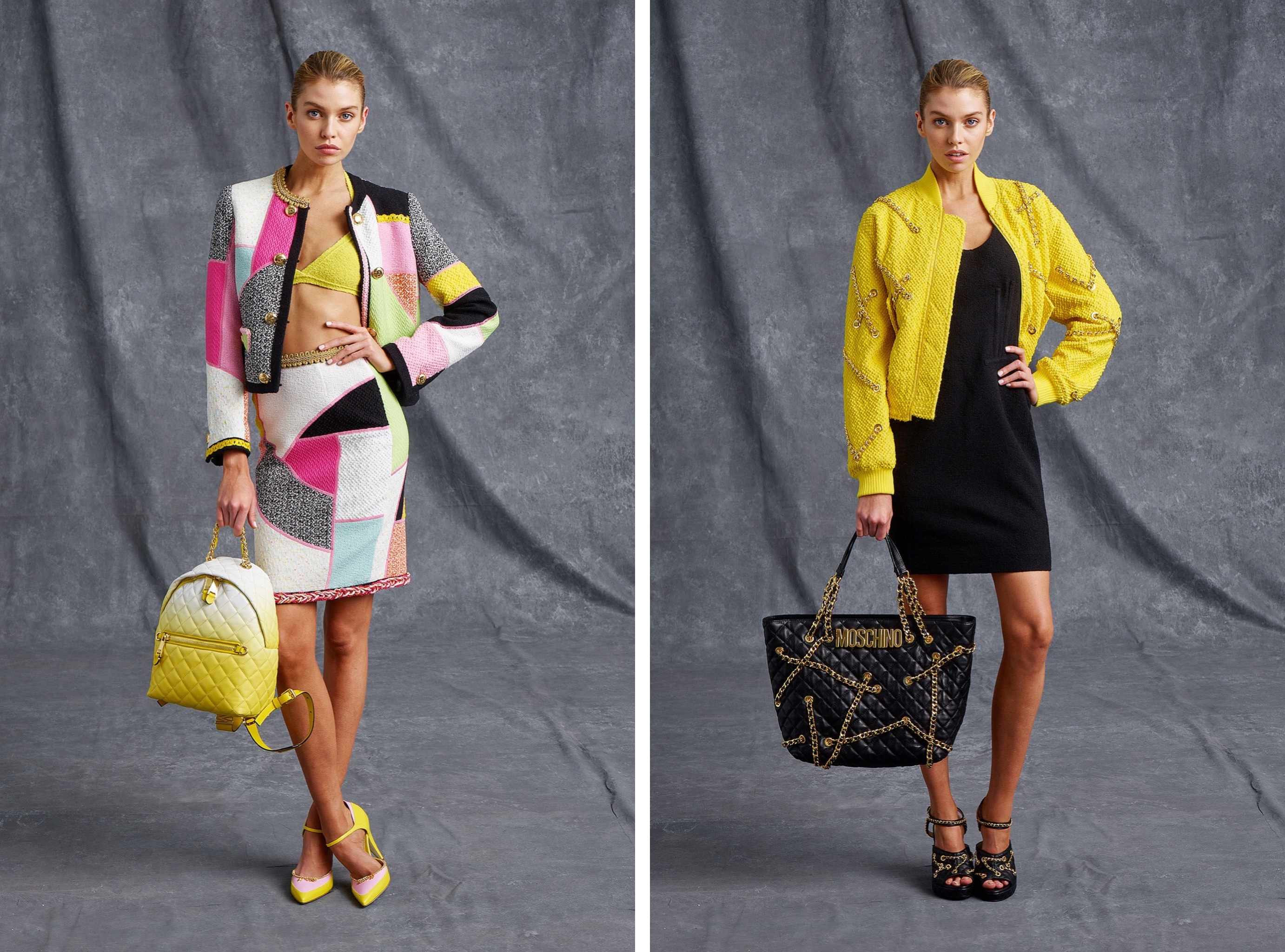 Moschino outfits Spring-Summer precollection