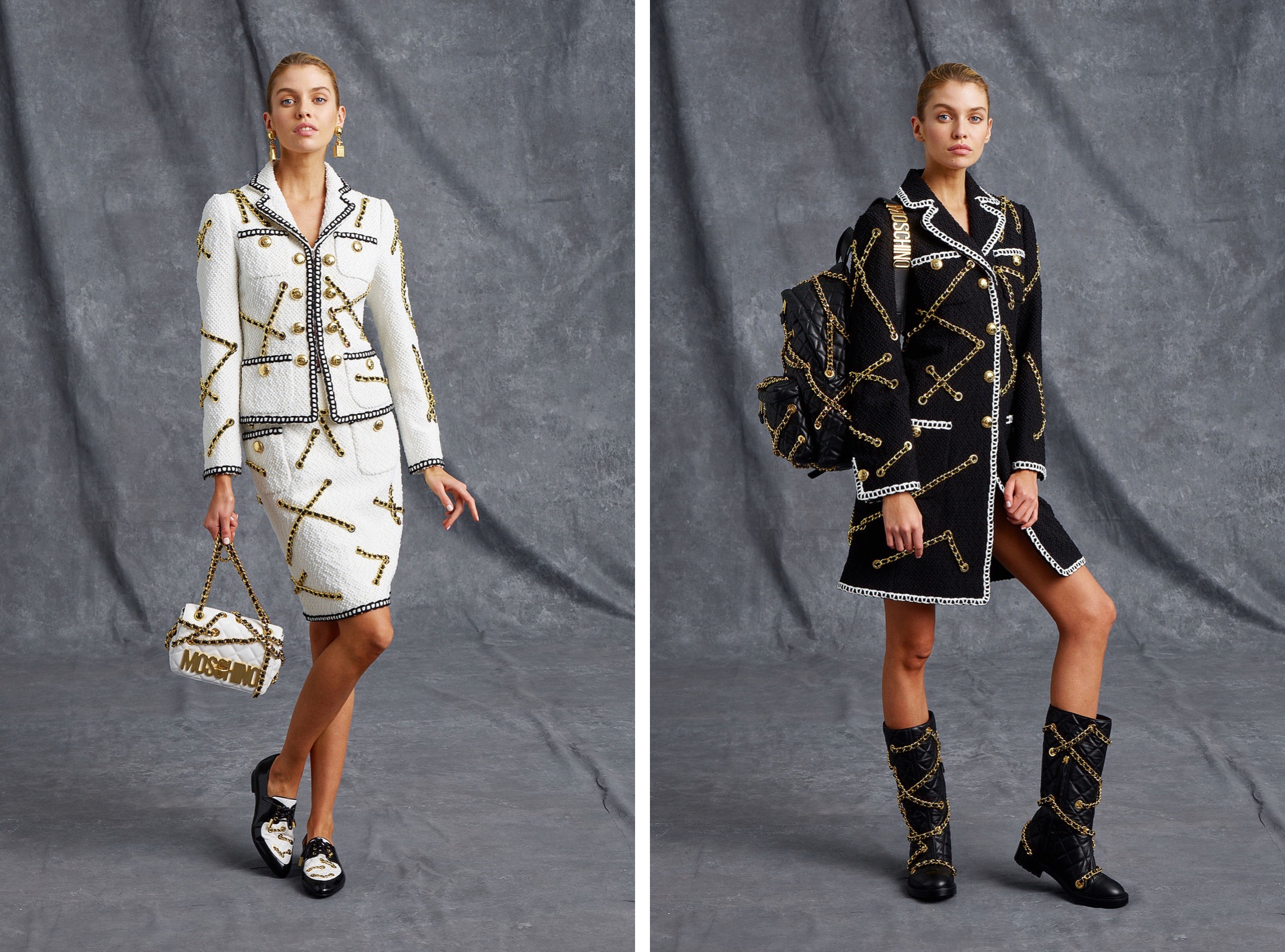 Moschino lookbook Spring-Summer precollection