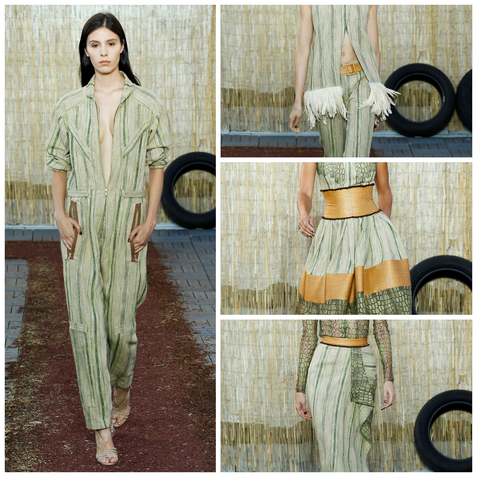 Sophie Theallet ready-to-wear sping summer 2016 outfit