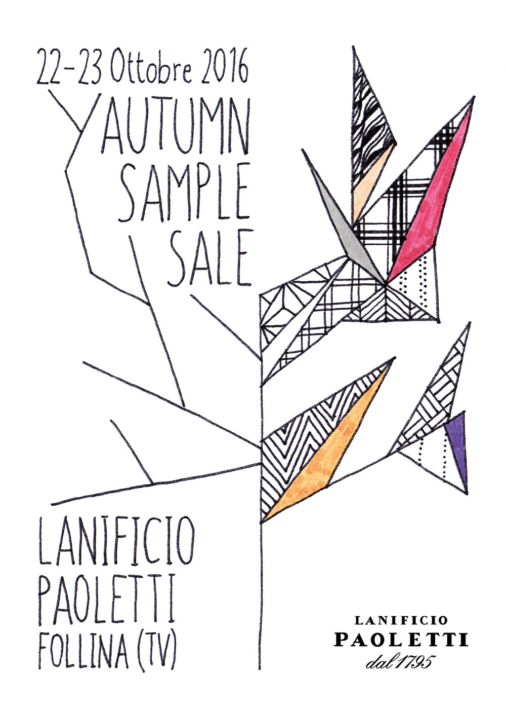 Autumn Sample Sale
